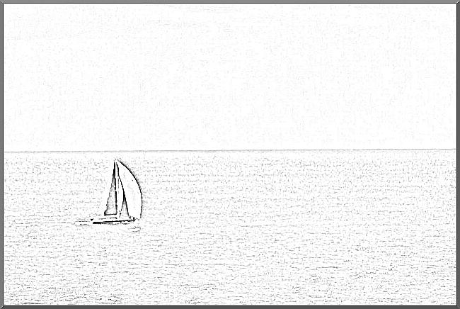 A direção do barco à vela representa a meta, e a navegação do barco em alto mar representa a produtividade. Imagem de Ashley Coates, sob a licença Attribution-ShareAlike 2.0 Generic (CC BY-SA 2.0). Adaptado de: https://creativecommons.org/licenses/by-sa/2.0/. {w=80%}